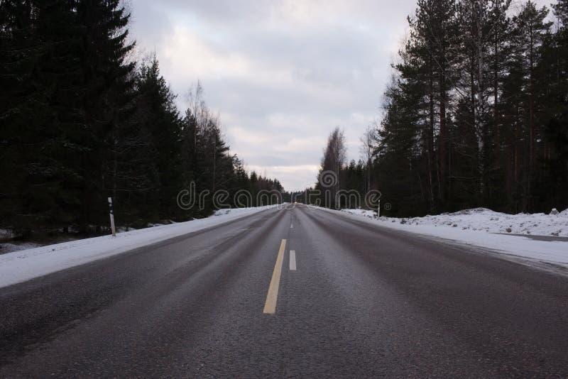 Середина взгляда дороги стоковое изображение