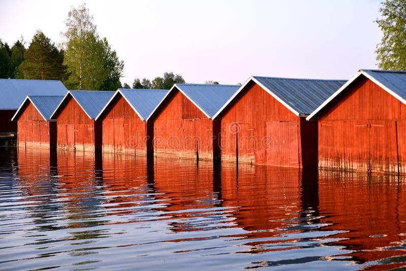 Середина лета в Финляндии стоковое изображение