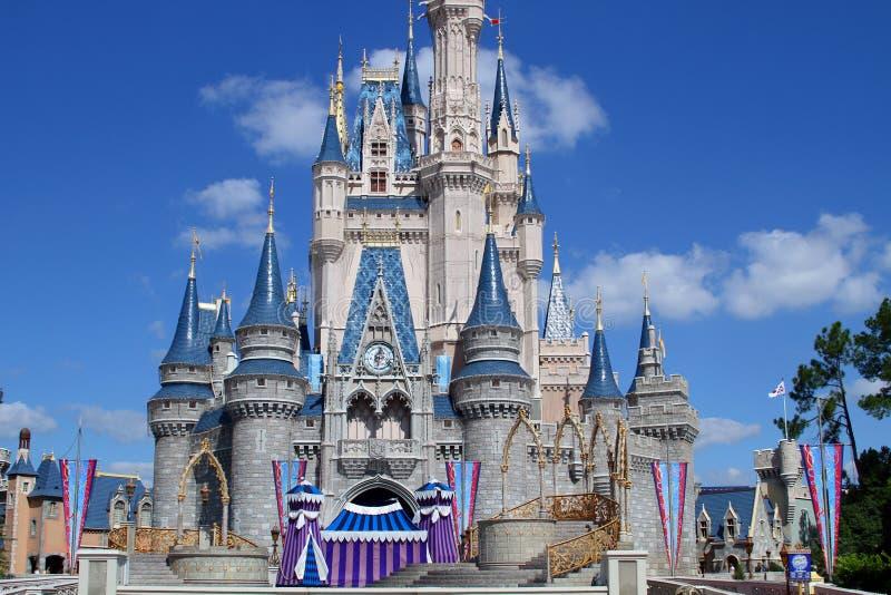 середина s Дисней florida замока волшебная стоковая фотография rf