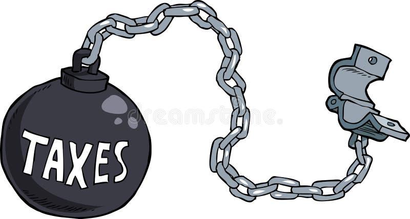 Сережки налога бесплатная иллюстрация