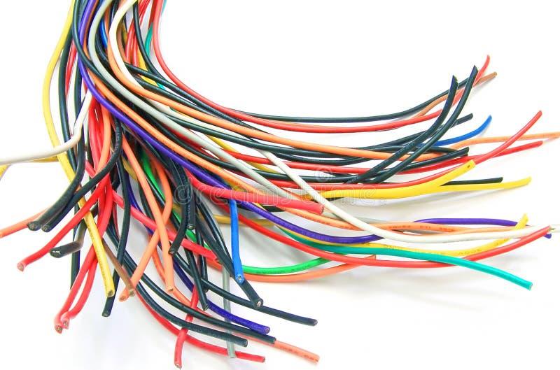 серии кабелей стоковые изображения