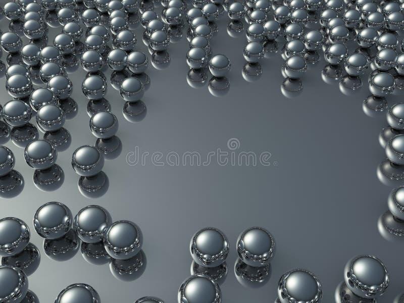 серии крома шариков бесплатная иллюстрация
