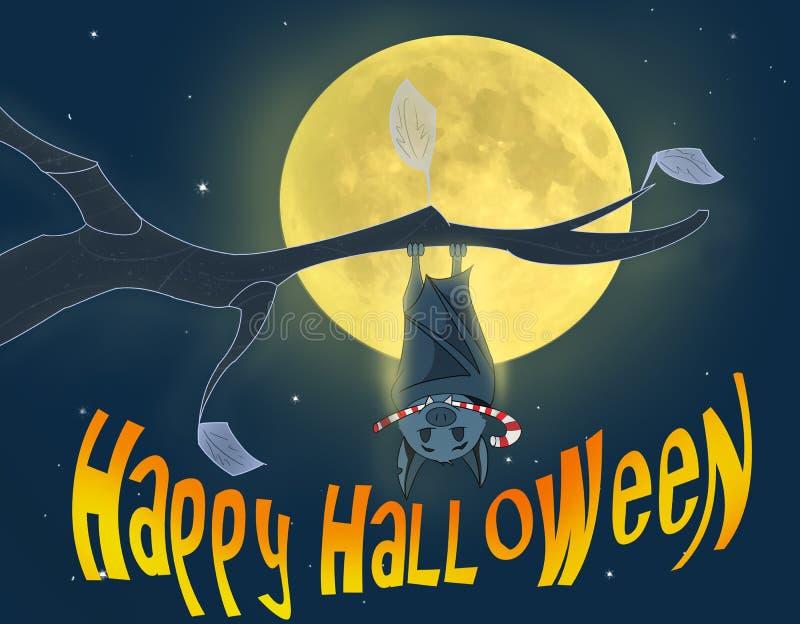 серии halloween экземпляра летучей мыши большие стоковая фотография rf
