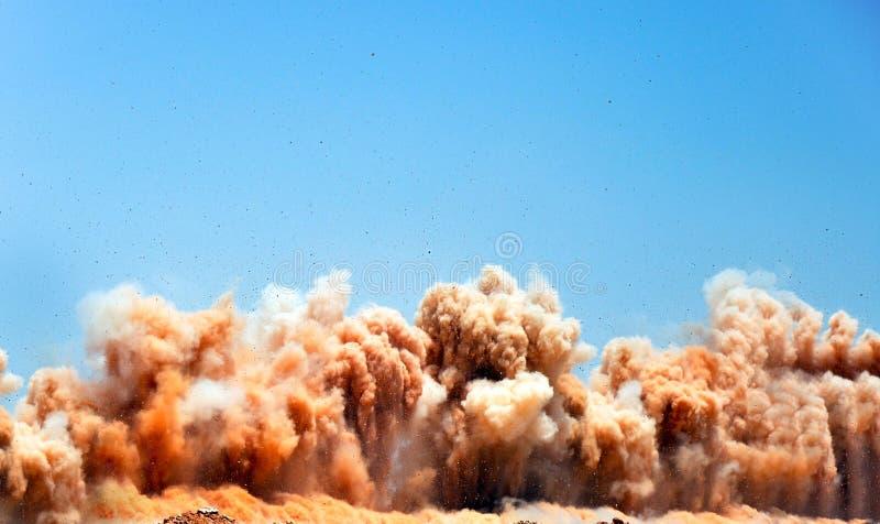 Серия взрывать на месте стоковое изображение rf