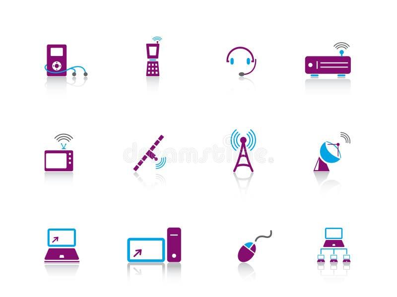 серия иконы электроники бесплатная иллюстрация