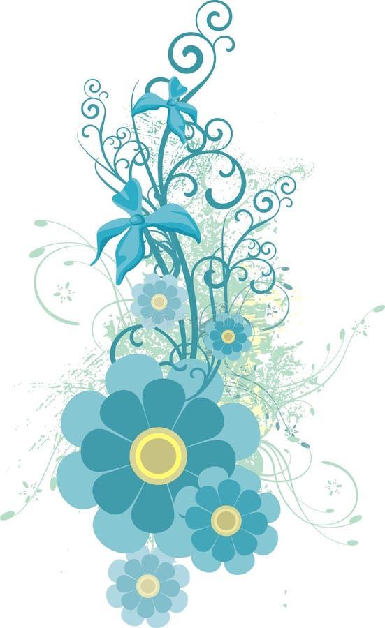 серия конструкции флористическая иллюстрация штока