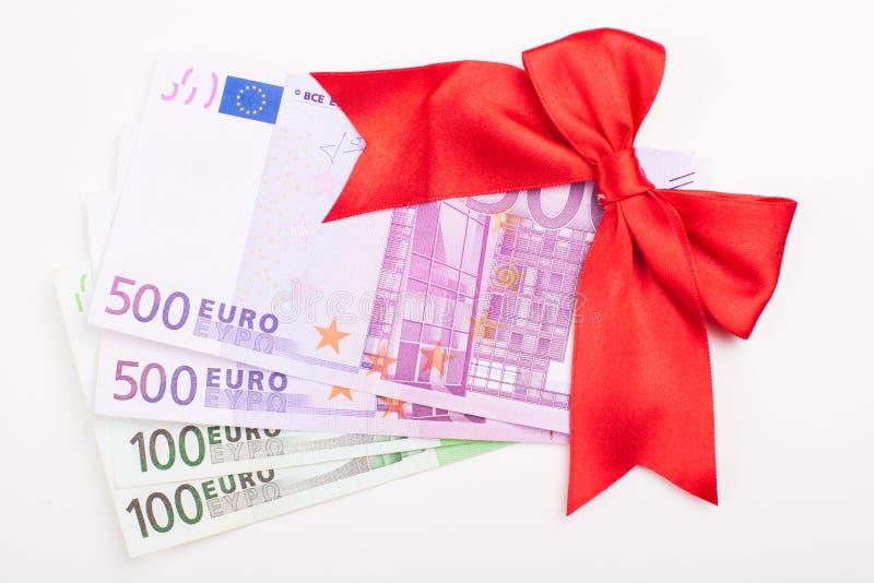 Подарок евро стоковое фото rf