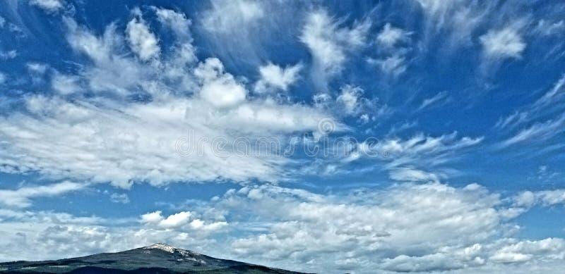 Серия 3 облаков стоковая фотография rf
