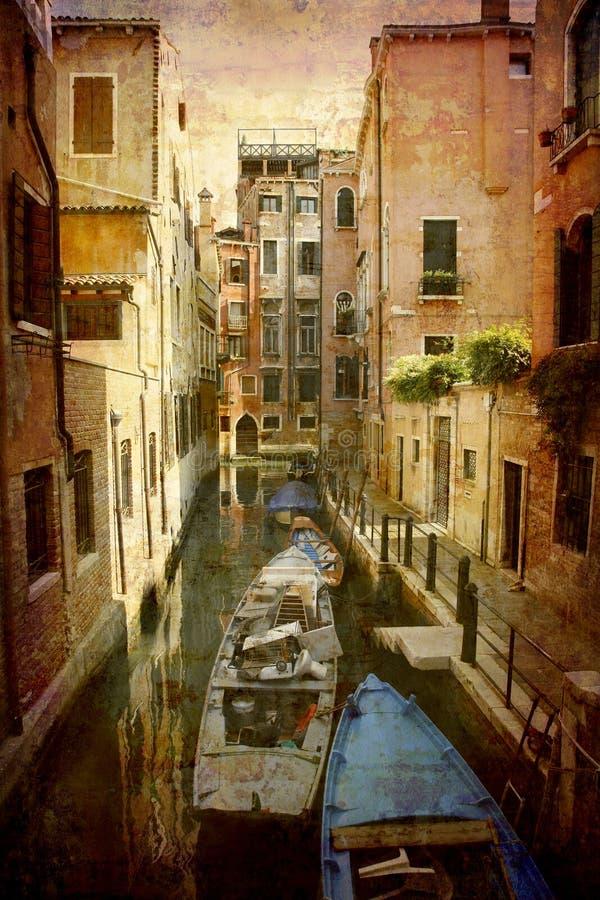 серия открытки Италии стоковое изображение