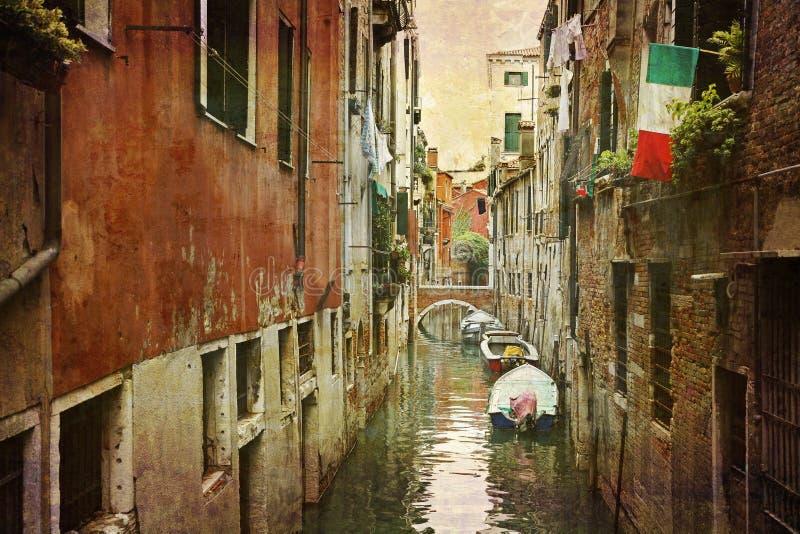 серия открыток Италии стоковые изображения