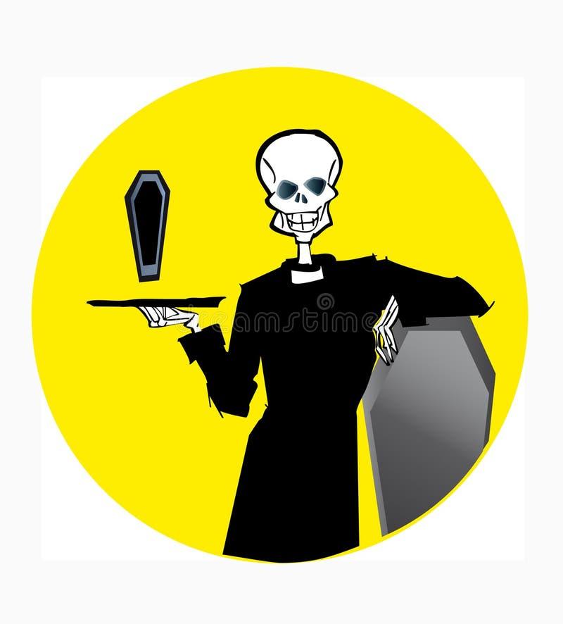 серия смерти иллюстрация вектора