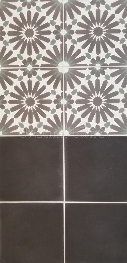 Серия текстуры - современные кафельные картины стоковые фотографии rf