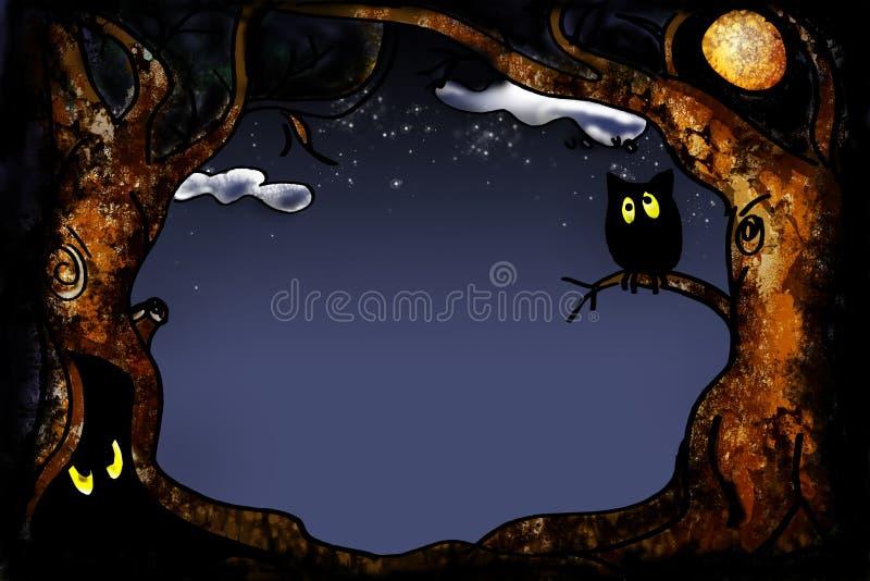 Серия Halloween иллюстрация штока