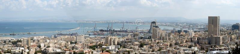 серия holyland haifa залива стоковая фотография