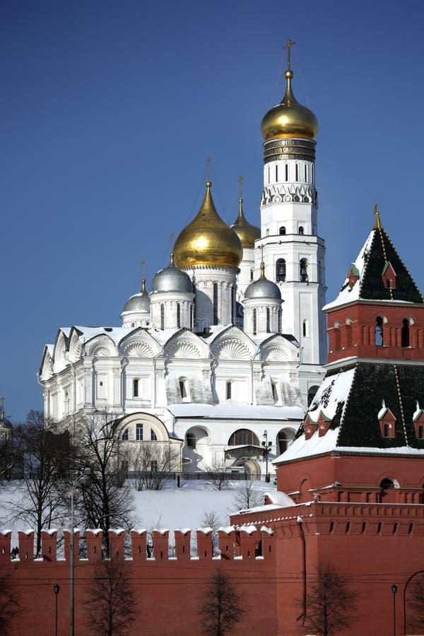 серия kremlin michael собора archangel стоковые фото
