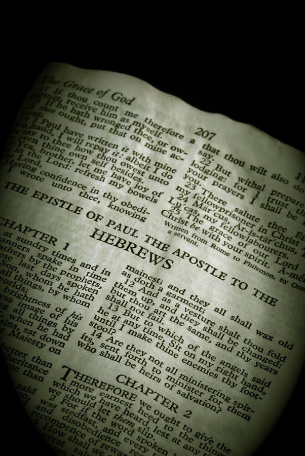 серия sepia hebrews библии стоковая фотография rf