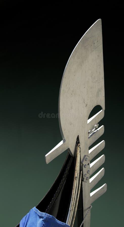 серия venice гондолы стоковое изображение