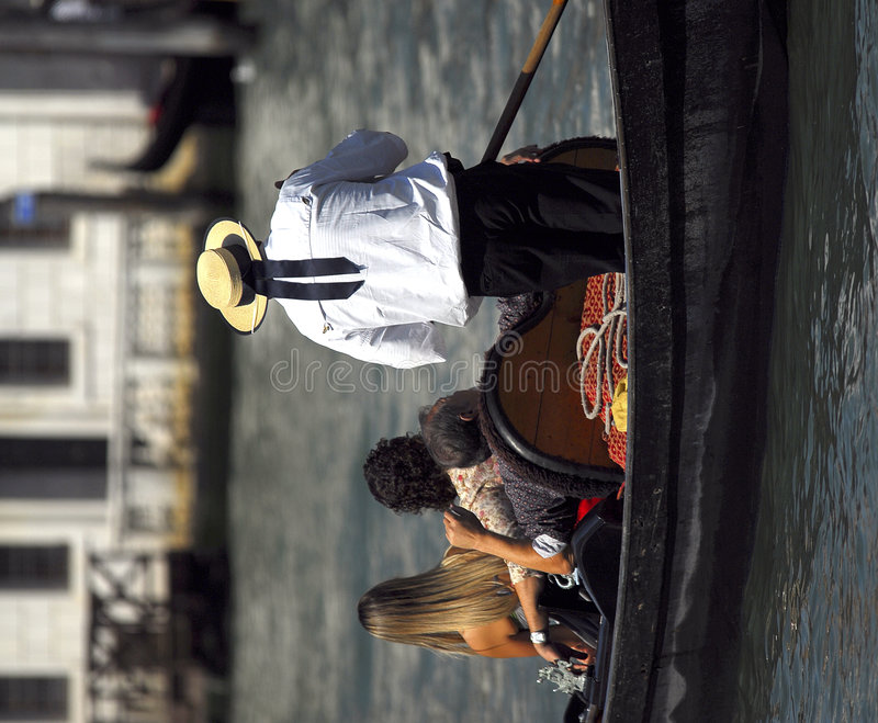 серия venice гондолы стоковая фотография rf