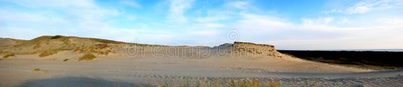 Серое время дюн осенью стоковые фотографии rf