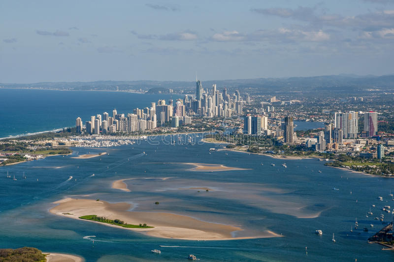 серферы рая Австралии стоковое фото rf
