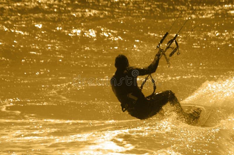 серфер змея стоковые фото