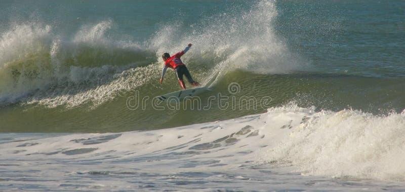 серфер 3 утюгов чемпиона andy приурочивает мир стоковые фото