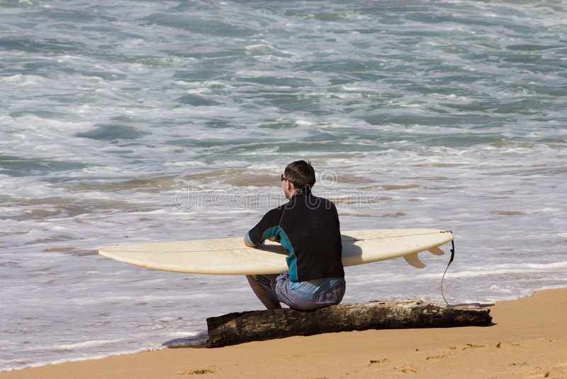 серфер стоковое изображение