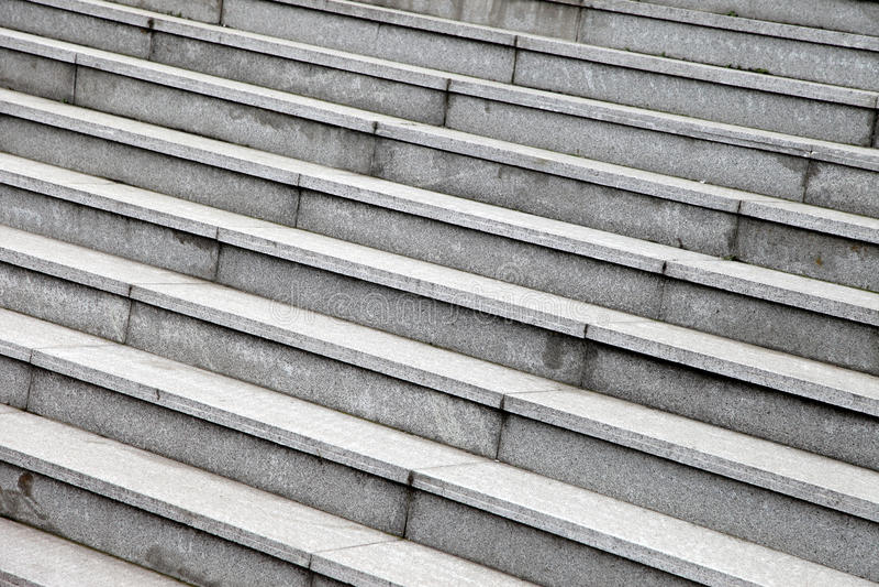 Серые каменные шаги стоковые фотографии rf