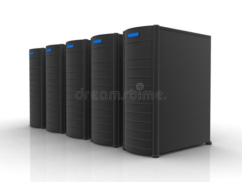 серые серверы