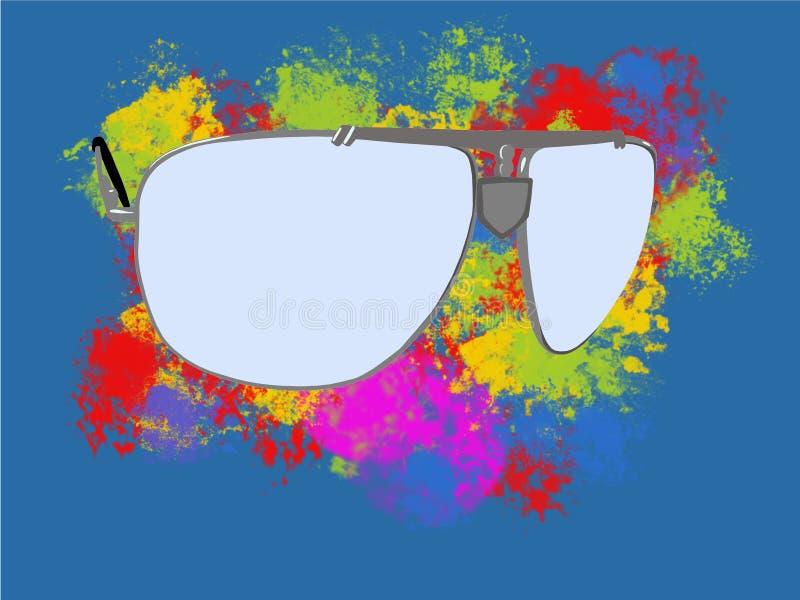 Серые солнечные очки стоковое фото