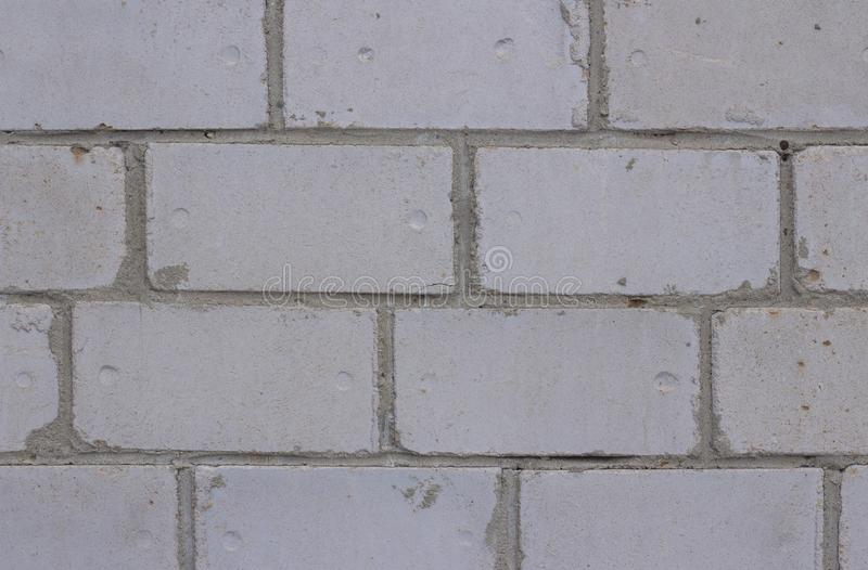 Серый блок текстуры предпосылки кирпичной стены, поверхность, цемент, стоковая фотография rf