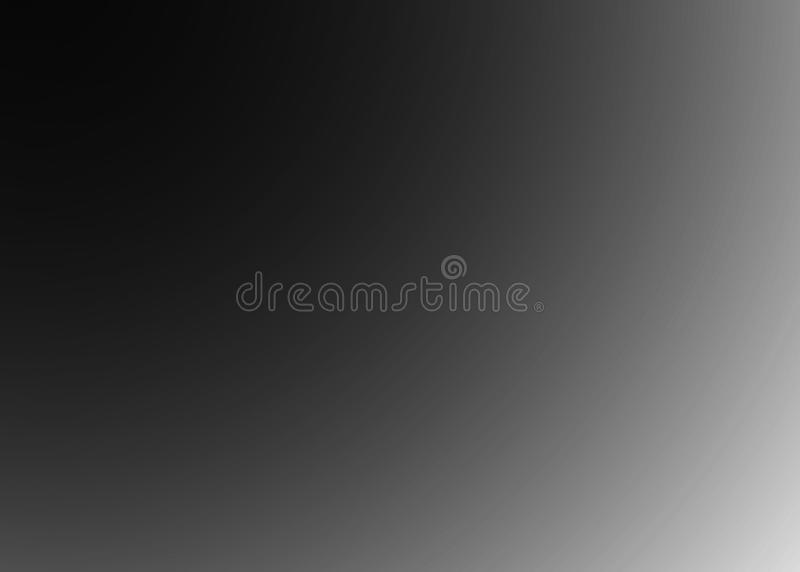 Серый конспект предпосылки - пустой свет - серая запачканная предпосылка с радиальным градиентом черно-белым бесплатная иллюстрация