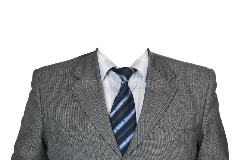 серый костюм стоковые изображения rf