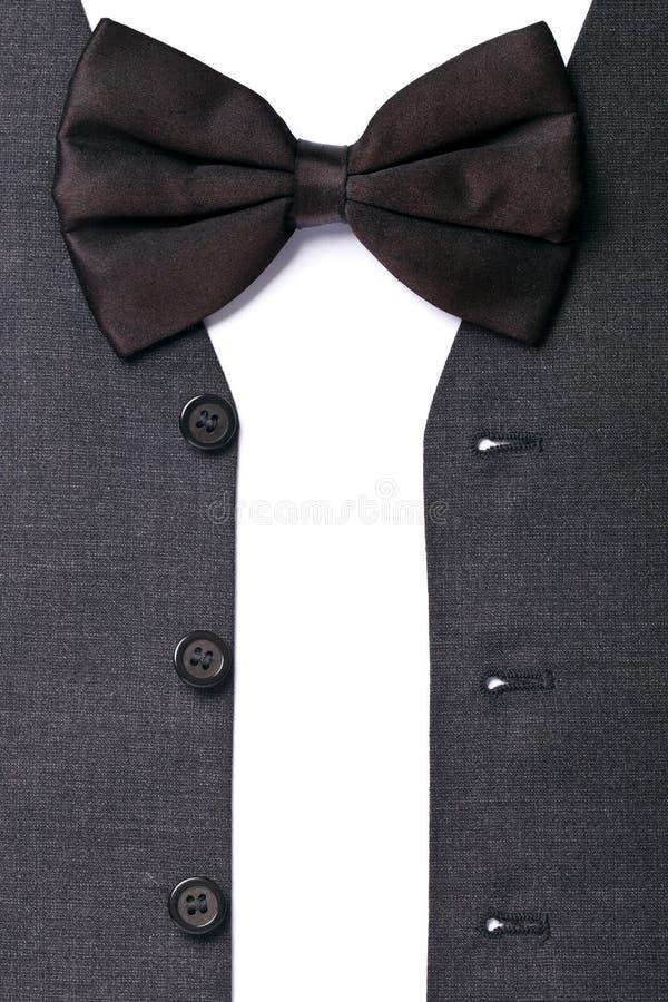 Серый цвет жилета людей стоковое изображение rf