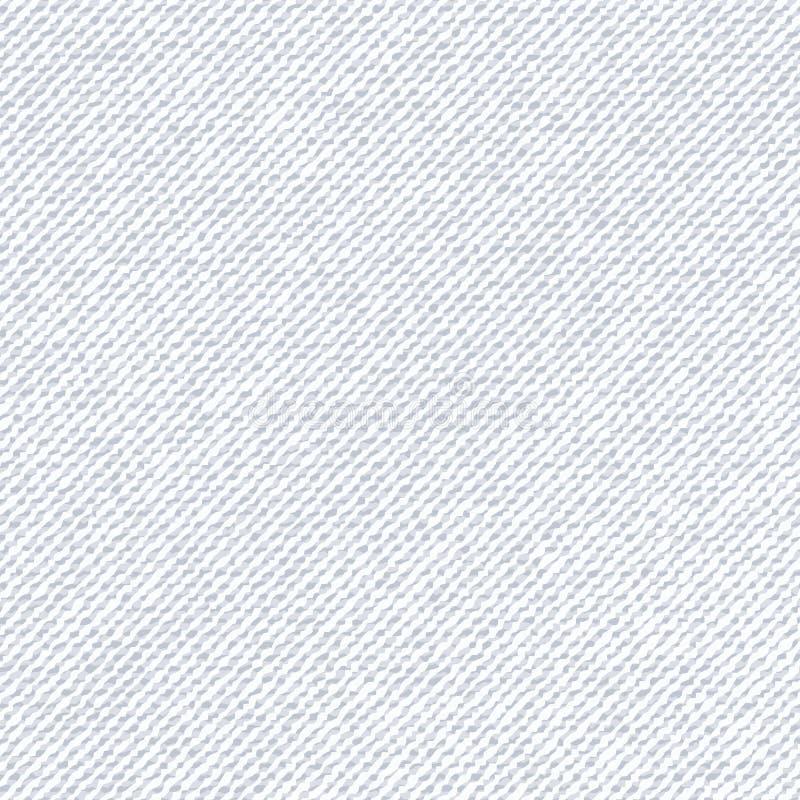 Серый цвет картины ткани с белыми нашивками Осветите текстурированную предпосылку, яркий фон, мягкую текстуру ткани естественно иллюстрация вектора