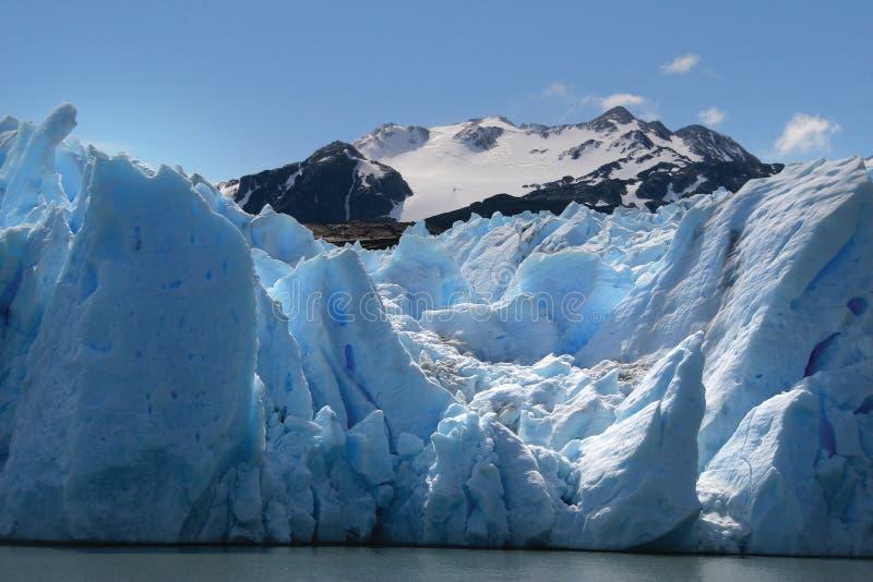серый цвет ледника стоковое фото