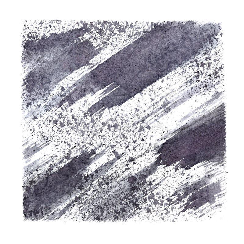 Серый stenciled квадрат иллюстрация вектора