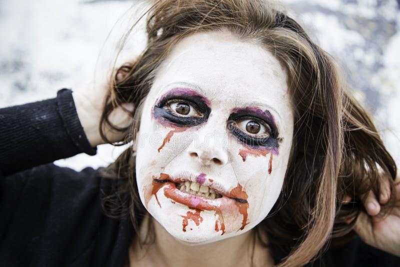 Сердитая девушка шальная стоковые изображения rf