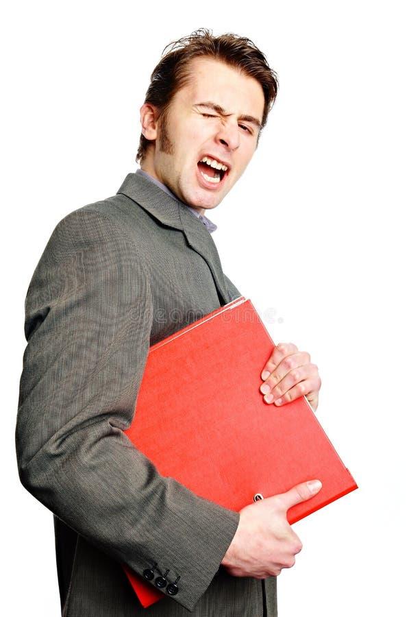 Download Сердитые Worktops владением человека Стоковое Изображение - изображение насчитывающей работа, одно: 40586967