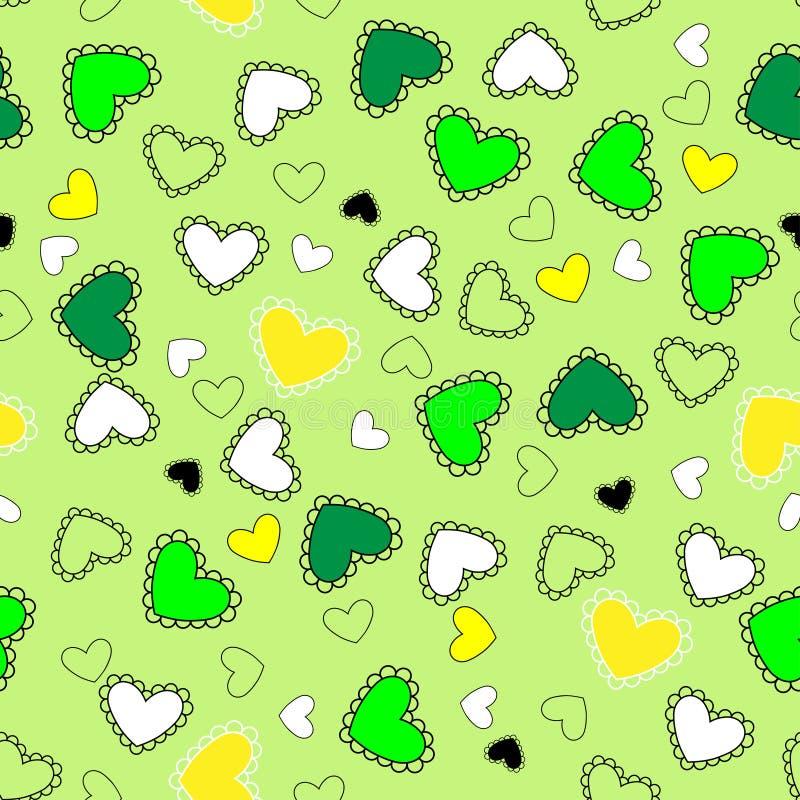 Сердца весны стоковые изображения rf
