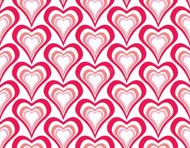 сердца делают по образцу безшовное бесплатная иллюстрация