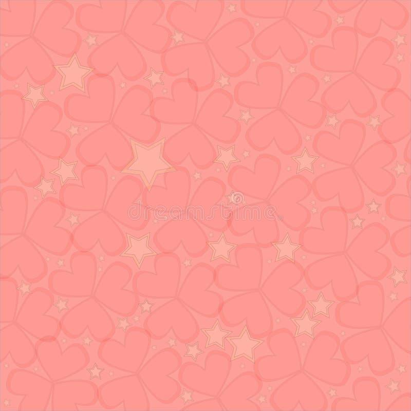 Сердца, предпосылка валентинки стоковое изображение