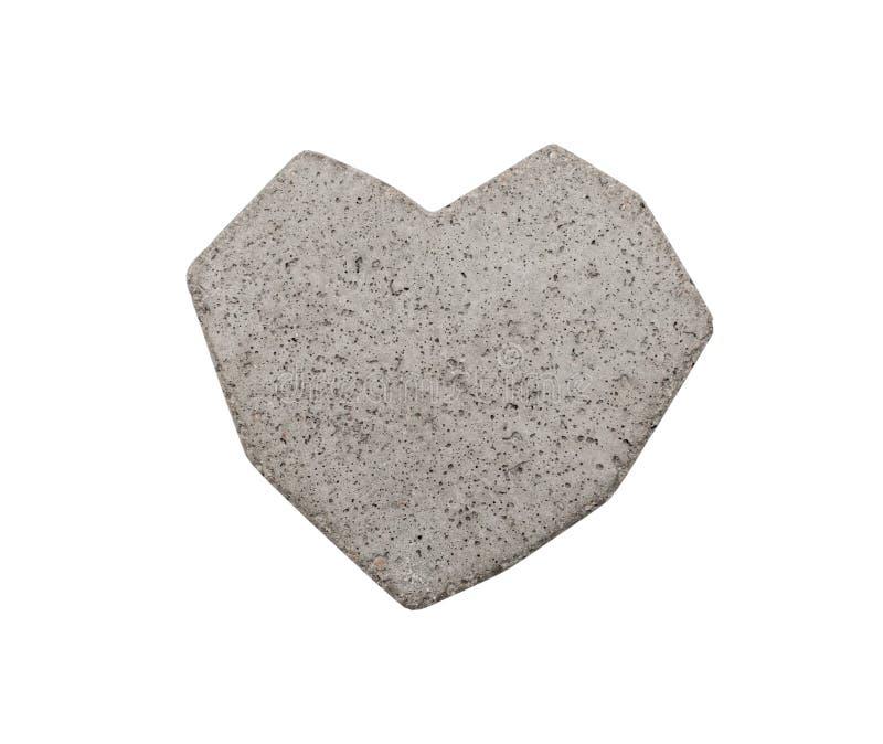 Сердце бетона стоковое изображение rf