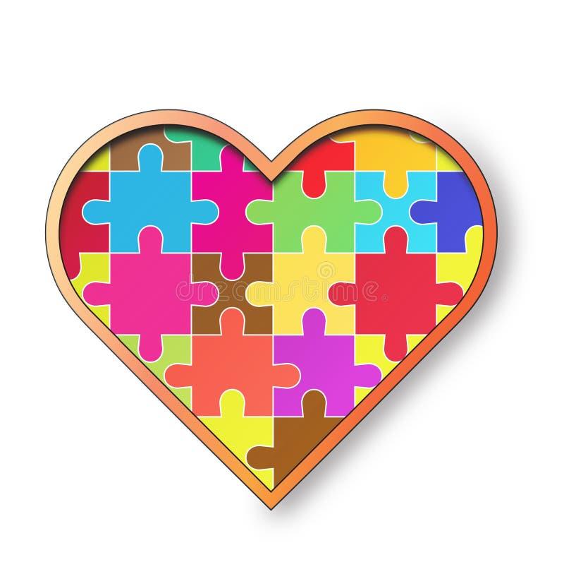 Сердце вектора. стоковая фотография rf