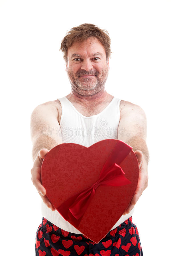 Сердце Гай валентинок стоковые фото