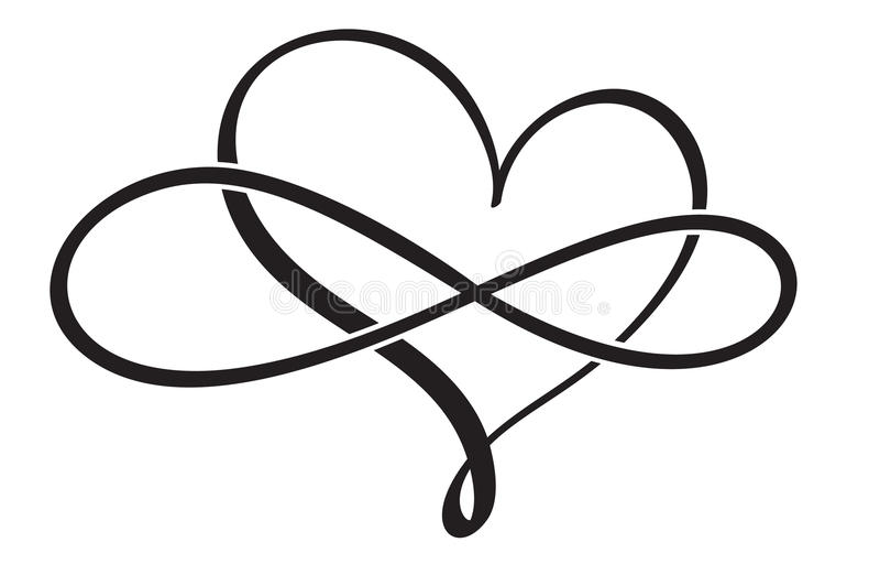 Сердце года сбора винограда каллиграфии эффектной демонстрации Вектор EPS нарисованный рукой 10 иллюстрации иллюстрация вектора