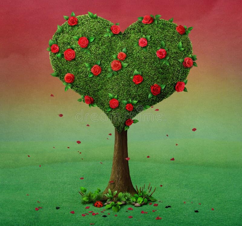 Сердце дерева бесплатная иллюстрация