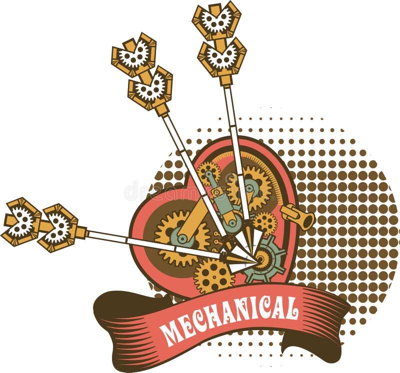 Сердце механизма Steampunk бесплатная иллюстрация