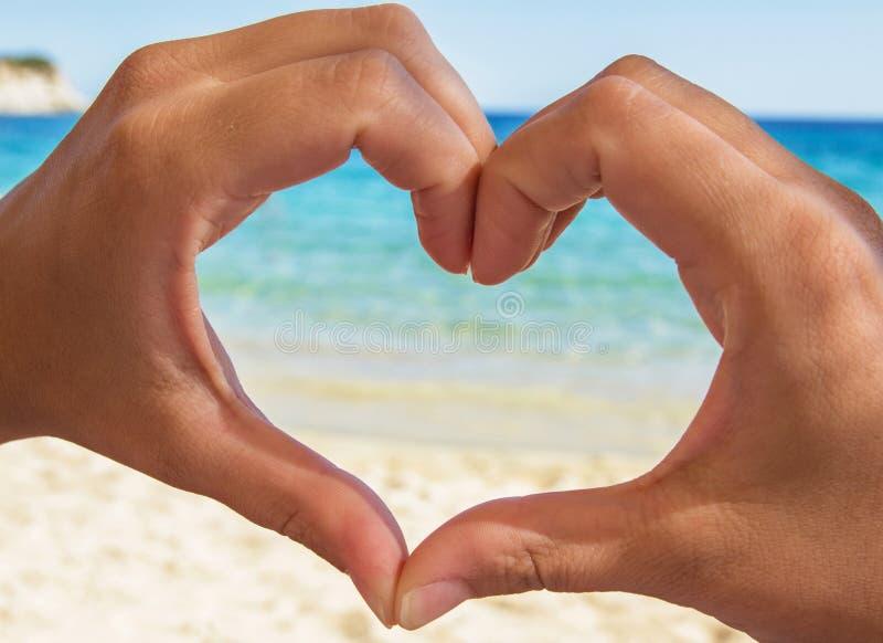 Сердце моря стоковое фото