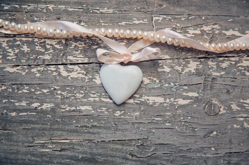 Сердце фарфора стоковое фото